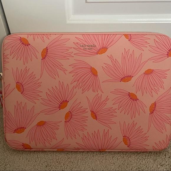 Kate Spade Falling Flower Laptop Case
